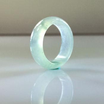 【森茂珠寶】緬甸天然翡翠A貨超值魅力價冰種翡翠戒指 C699