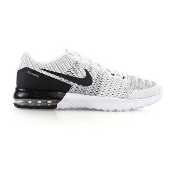 【NIKE】AIR MAX TYPHA 男慢跑鞋- 路跑 氣墊 編織 訓練 白灰黑