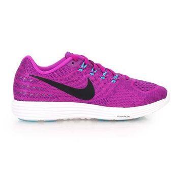 【NIKE】LUNARTEMPO 2女慢跑鞋- 路跑 健身 半馬 全馬 紫藍