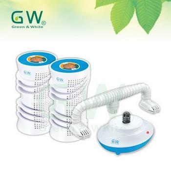 【GW水玻璃】分離式除濕機超值4件組