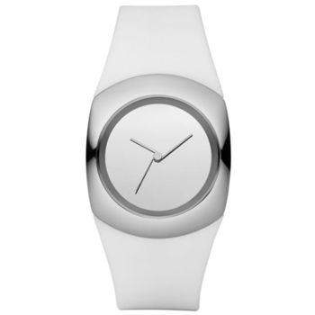 【PHILIPPEI STARCK】創意極簡未來感設計銀色腕錶(PH5042)