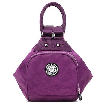 【Acorn*橡果】韓風輕量防水多功能後背包6536(紫色)