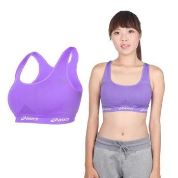 【ASICS】女運動內衣- 韻律 有氧 運動背心 亞瑟士 淺紫