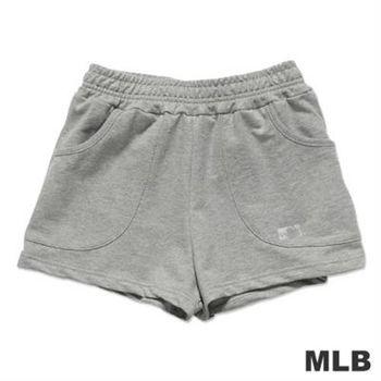 MLB-美國職棒大聯盟印花休閒短褲-麻灰(女)