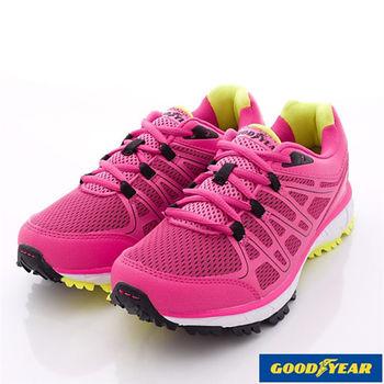 GOODYEAR戶外鞋-越野運動款-GAWR52602桃-女款