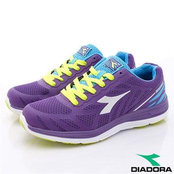 DIADORA義大利國寶鞋-E寬楦頭TPU超輕量慢跑款-WR2387女款-深紫