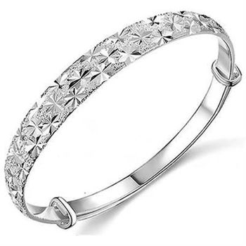 【米蘭精品】925純銀手環手鍊奢華優美時尚個性73ap5