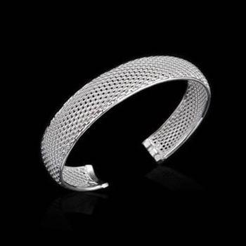 【米蘭精品】925純銀手環手鍊精緻時尚歐美流行73ap38