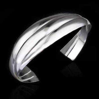 【米蘭精品】925純銀手環手鍊高貴時尚氣質個性73ap45