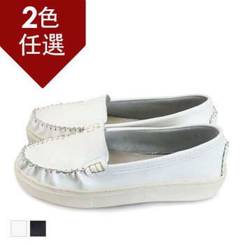 FUFA MIT 真皮莫卡辛包鞋 (FA95)-共兩色