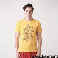~BasicElement~男款無懼之愛 T ^#45 黃色