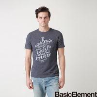 ~BasicElement~男款無懼之愛 T ^#45 藍黑色