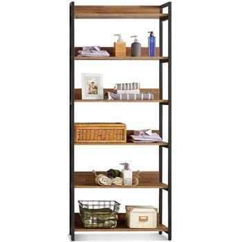 【MY傢俬】現代工業風開放式2.6尺收納系統衣櫃