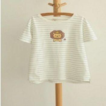 [協賀]韓國寬鬆卡通印花短袖