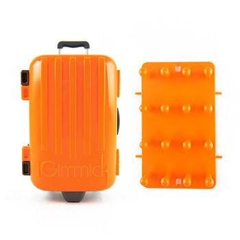 【iGimmick】3C線材收納盒 橘色行李箱