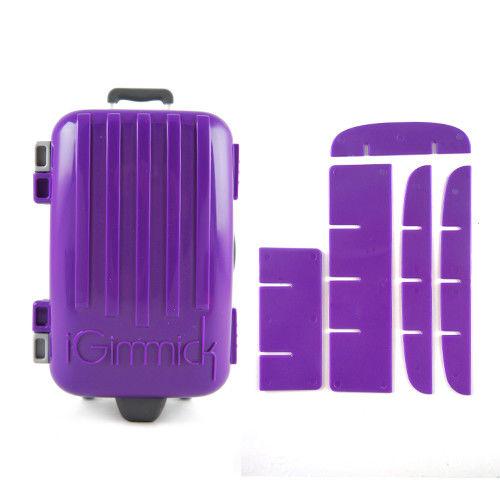【iGimmick】魔術分裝收納盒 紫色行李箱