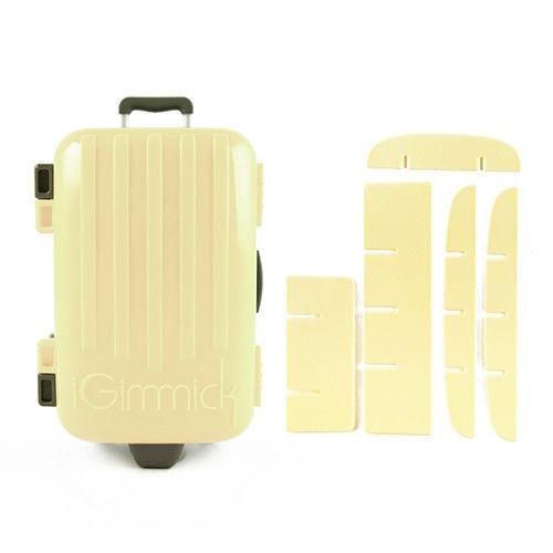 【iGimmick】魔術分裝收納盒 米白行李箱