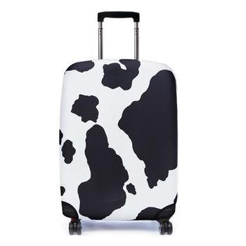 【Bibelib】行李箱套- 瑞士乳牛