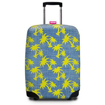 【SUITSUIT】行李箱套 - 熱帶椰林 Tropical Denim
