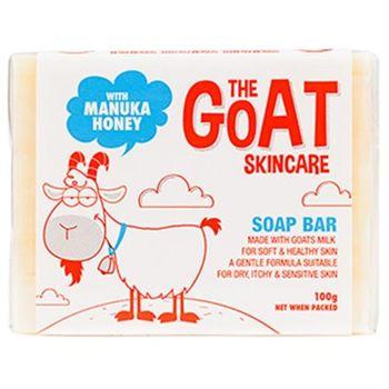 【澳洲進口 The Goat Soap】蜂蜜羊奶皂 100克 X 1塊(嘗鮮組蜂蜜味100克 X 1 塊組)