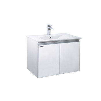 【HCG】浴櫃系列-LCE3406(AW)臉盆浴櫃(含龍頭) LF3162龍頭