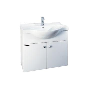 【HCG】浴櫃系列-LCS4177臉盆浴櫃(含龍頭) LF510龍頭