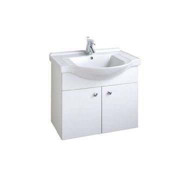 【HCG】浴櫃系列-LCS4176臉盆浴櫃(含龍頭) LF510龍頭