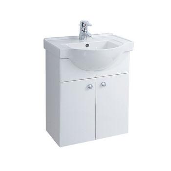 【HCG】浴櫃系列-LCS4175臉盆浴櫃(含龍頭) LF3132N龍頭