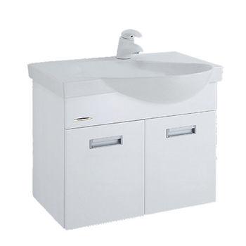 【HCG】浴櫃系列-LCP575臉盆浴櫃(含龍頭) LF3113U(AW)龍頭