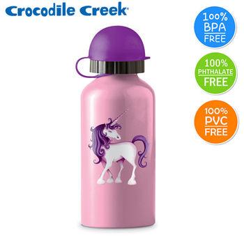 【美國Crocodile Creek】環保兒童不鏽鋼水瓶(獨角獸)