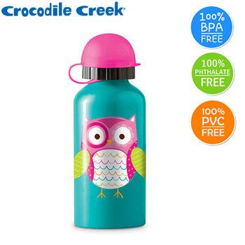 【美國Crocodile Creek】環保兒童不鏽鋼水瓶(貓頭鷹)