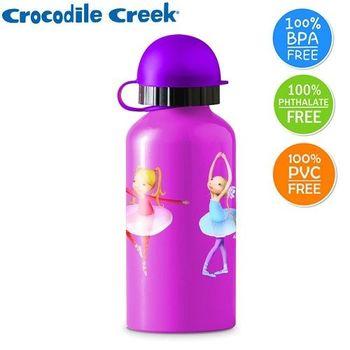 【美國Crocodile Creek】環保兒童不鏽鋼水瓶(舞蹈世界)