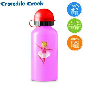 【美國Crocodile Creek】環保兒童不鏽鋼水瓶(芭蕾舞伶)