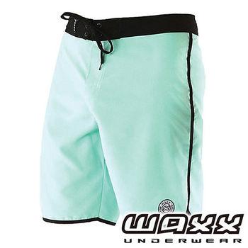 《WAXX》繽紛系列-快乾型男衝浪褲(粉綠色)(18吋)