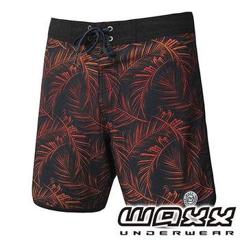 《WAXX》熱帶系列-亞馬遜雨林快乾型男衝浪褲(18吋)