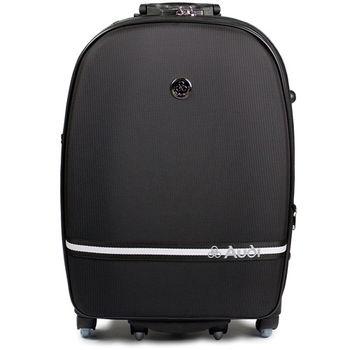 【Audi 奧迪】29吋星點系列輪子360度~Audi登機箱行李箱M-7629-黑