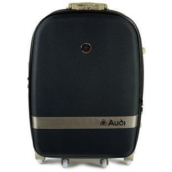 【Audi 奧迪】25吋新蜂巢格8輪360度~Audi行李箱旅行箱M-71525-黑