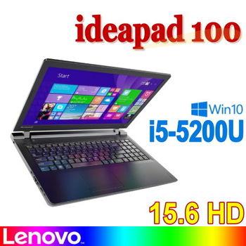 Lenovo 聯想 ideapad 100 80QQ00LCTW 15.6吋 i5-5200U 500G 獨顯2G Win10 熱銷國民筆電