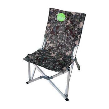 【OutdoorBase】樂活鋁合金休閒椅-迷彩-25193(非SNOW PEAK.COLEMAN.LOGOS)
