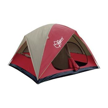 【OutdoorBase】楓紅270雙房隔間帳篷-21195