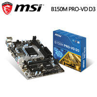 msi 微星 B150M PRO ^#45 VD D3 主機板 ^#40 DDR3 主機板