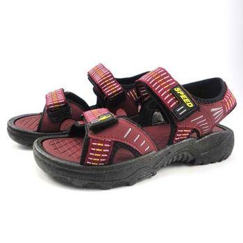[SPEED]簡雅條紋運動女涼鞋-MIO0515