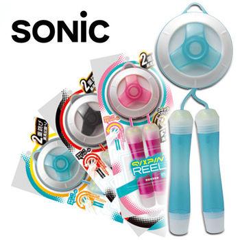 Sonic 高速軸承 花式跳繩專用 培林旋轉收納跳繩3入