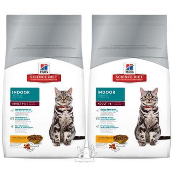 【Hills】美國希爾思 室內成貓專用配方 貓飼料 4公斤 X 2包