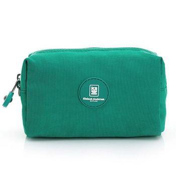 【金安德森】樂活美學 經典長方款手握附件包-湖水綠