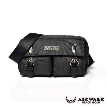 【美國 AIRWALK】黑金系列 時光行者迷你側背包 - 三色
