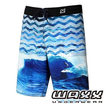 《WAXX》熱帶系列-極酷衝浪快乾型男衝浪褲(21吋)