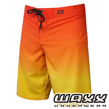 《WAXX》 漸層系列-日出景色快乾型男衝浪褲(21英吋)
