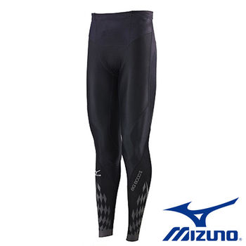 【Mizuno 美津濃】 BG 8000 Ⅱ 男壓縮緊身褲 K2MJ5B0190(黑x黑)