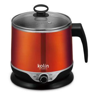 (福利品)歌林1.5L隔熱不鏽鋼美食鍋(KPK-MNR151)
